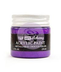 Metallique Crocus Fields - Alchemy Acrylic Paint
