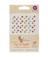 Love Clippings Say It In Crystals Adhesive Embellishments
