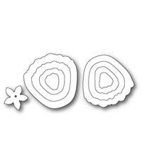 Plush Ruffled Rose - Die