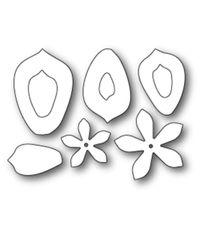 Plush Narrow Succulent - Die