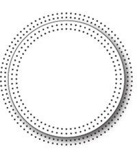 Pinpoint Circle Frame - Die