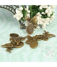 Antique Butterfly Pendant