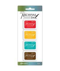 Wendy Vecchi Mini Archival Ink Pads Kit #1