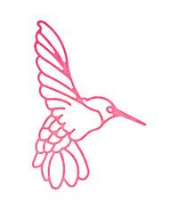 Lace Hummingbird Die