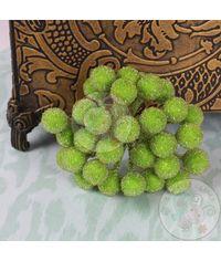 Crystal Beaded Single Pollens - Green