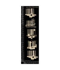 Bar Codes 5pk - Chipboard Cutouts