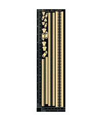 Zippers - Chipboard Cutouts