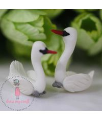 Miniature Figure Small Swan