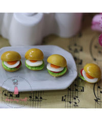 Miniature Bread - Egg Burger