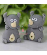 Miniature Figure Rhino