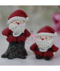 Miniature Figure Santa Claus