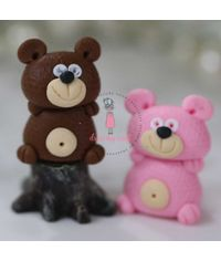 Miniature Figure Teddy Bear