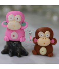 Miniature Figure Monkey