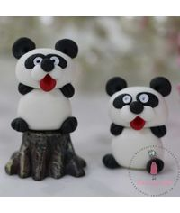 Miniature Figure Panda