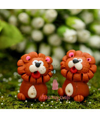 Miniature Figure Cute Lion