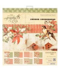 "Winter Wonderland - Paper Pad 12""X12"" 24/Pkg"