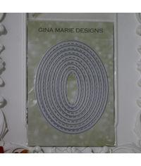 Stitched Oval - Die