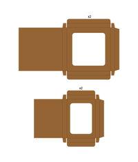 Kraft - Card Shadow Box Set