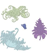 Lush Lilac & Umbrella Spray - Die