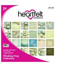 "Winking Frog 12""X12"" Paper Pad 24/Pkg"