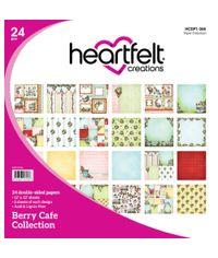 "Berry Cafe 12""X12"" Paper Pad 24/Pkg"
