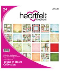 """Young At Heart - 12""""X12"""" Paper Pad 24/Pkg"""