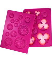 3D Floral Basics Shaping Mold