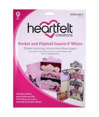 White - Pocket and Flipfold Inserts F