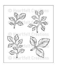 Open Leaf - Stamp