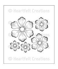 Arianna Blooms PreCut Set - Stamp