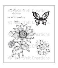 Sunflower Stem - Stamp
