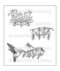 Romantique Wings - Stamp