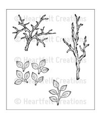Leafy Branch - Stamp