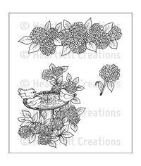 Hydrangea - Stamp