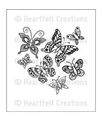 Butterfly Medley - Stamp