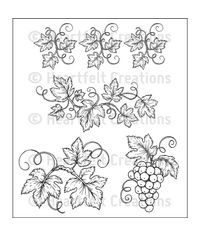 Italiana Grapevines - Stamp