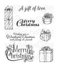 Gift Wrapped Presents - Stamp