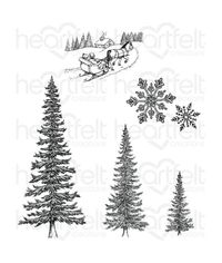 Snow Kissed Spruce - Stamp
