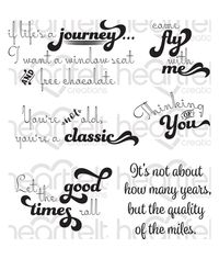 Good Times Sentiments - Stamp