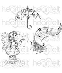 Singing in the Rain - Stamp