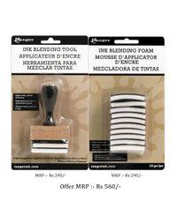 Ink Blending Tool & Foam - Combo Pack