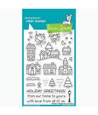 Winter Village - Stamp
