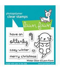 Winter Otter - Stamp
