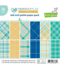 Perfectly Plaid Chill Petite - Paper Pack 6 x 6