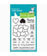 How You bean? Conversation Heart add-on - Stamp