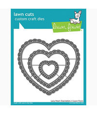 Lacy Heart Stackables - Die