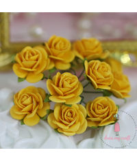 Micro Roses - Bright Yellow