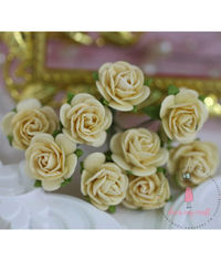 Micro Roses - Light Yellow