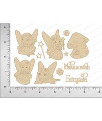 Fairytales / Unicorn - Chipboard Cutouts