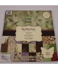Habitat 12x12 Paper Pad